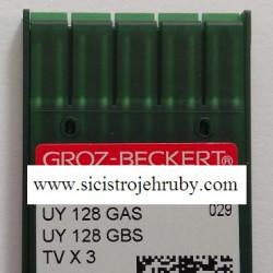 Jehly sysém UY 128 GAS, síla 80/12 (10ks)