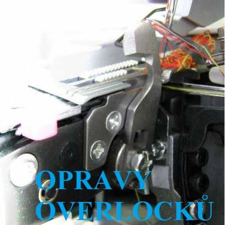Opravy overlocků