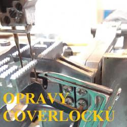 Opravy coverlocků
