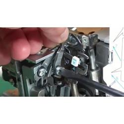 Overlock - výměna a seřízení nožů